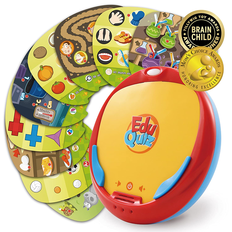 BEST LEARNING EduQuiz Basic Set I – Interactive Educational Matching Toy for Kids