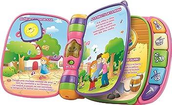 VTech - Primeras Canciones, Libro Musical, Color Rosa (3480-166757)