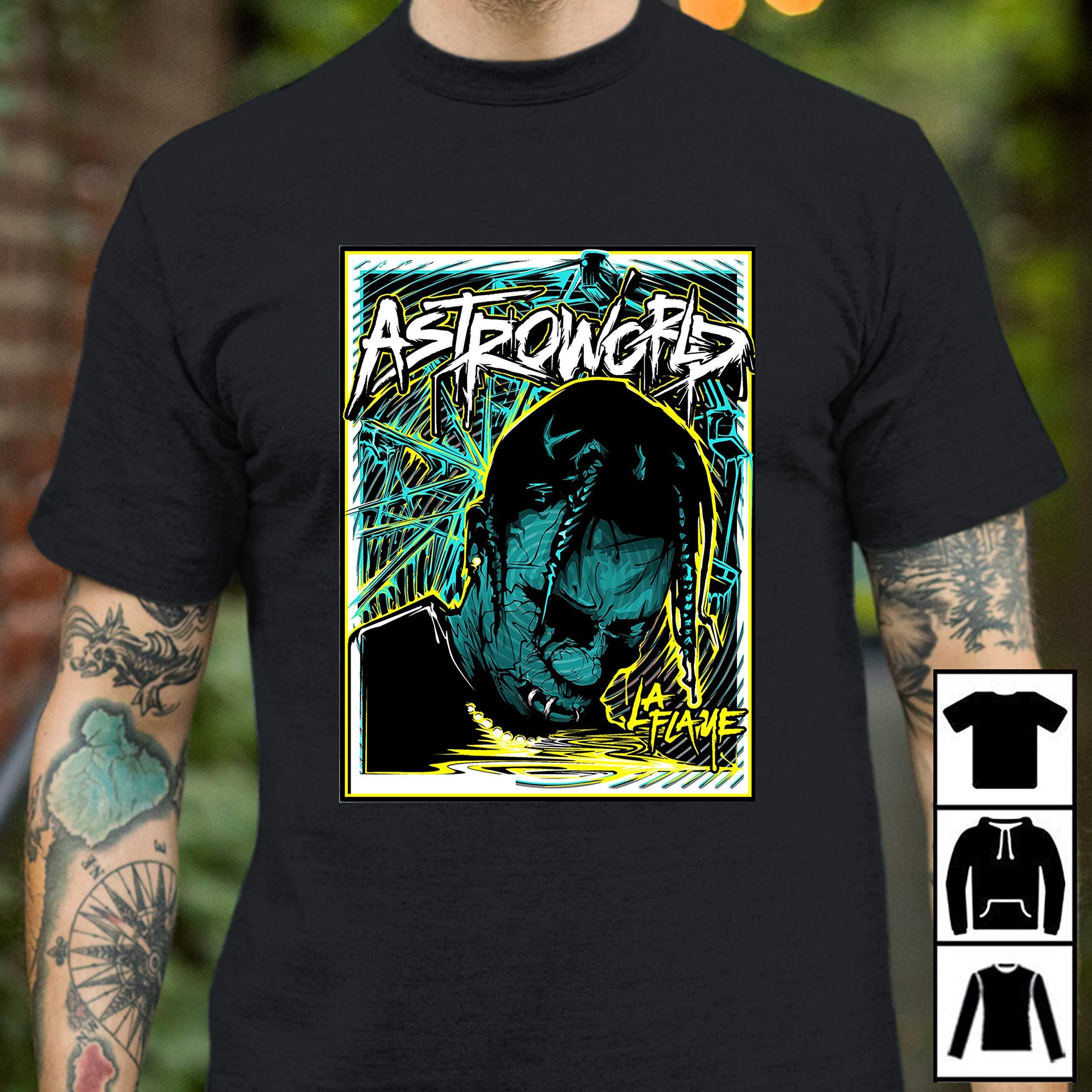 Travis Scott Long Shirts
