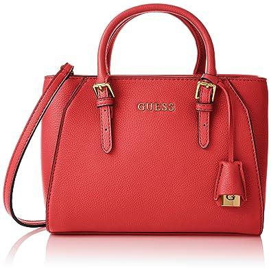 Guess Damen Sissi Small Satchel Handtaschen, Einheitsgröße