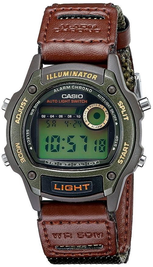 697b6e0d6549 Amazon.com  Casio Men s W94HF-3AV Sport Watch  Watches