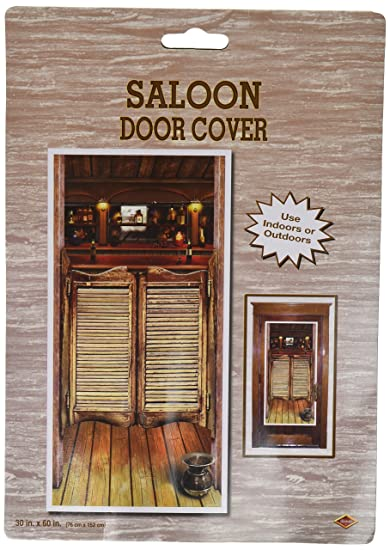 Beistle 57127 Saloon Door Cover 30-Inch by 5-Feet & Amazon.com: Beistle 57127 Saloon Door Cover 30-Inch by 5-Feet ...