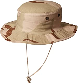 45cf3d6fc4ea3 Amazon.com  Desert Boonie Hat - 3 Color - DCU  Military Apparel ...