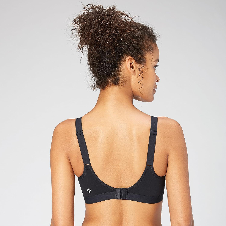 40C Brand Core 10 Womens Full Figure All Day Comfort Adjustable Sports Bra