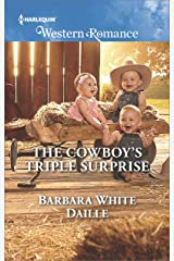 The Cowboy's Triple Surprise (The Hitching Post Hotel Book 5) Kindle Edition