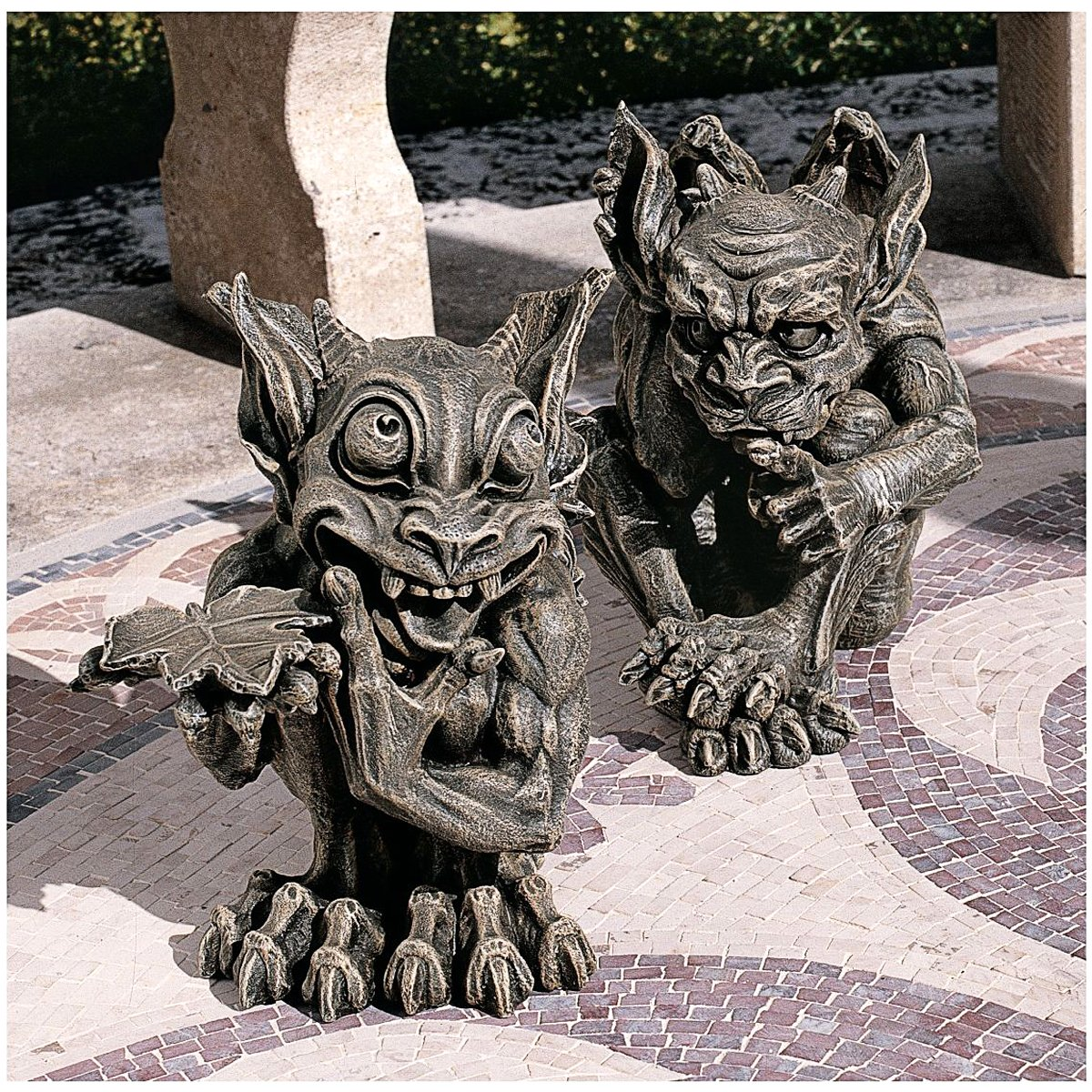 the Gothic Gargoyle Sculpture Design Toscano Babble