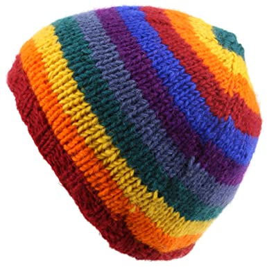 204b632c675 Image Unavailable. Image not available for. Colour  LOUDelephant Wool knit  beanie hat with fleece lining ...