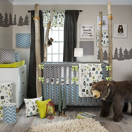 Glenna jean north country baby bedding collection baby for Woods themed nursery