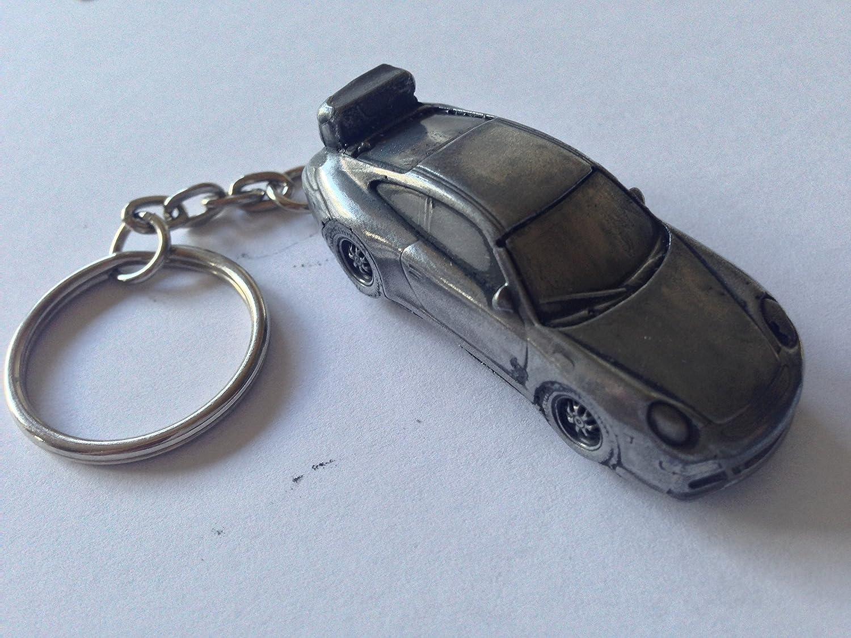 Porsche 911 Gt3 3d Split Ring Ref315 Auto Schlüsselanhänger Spielzeug