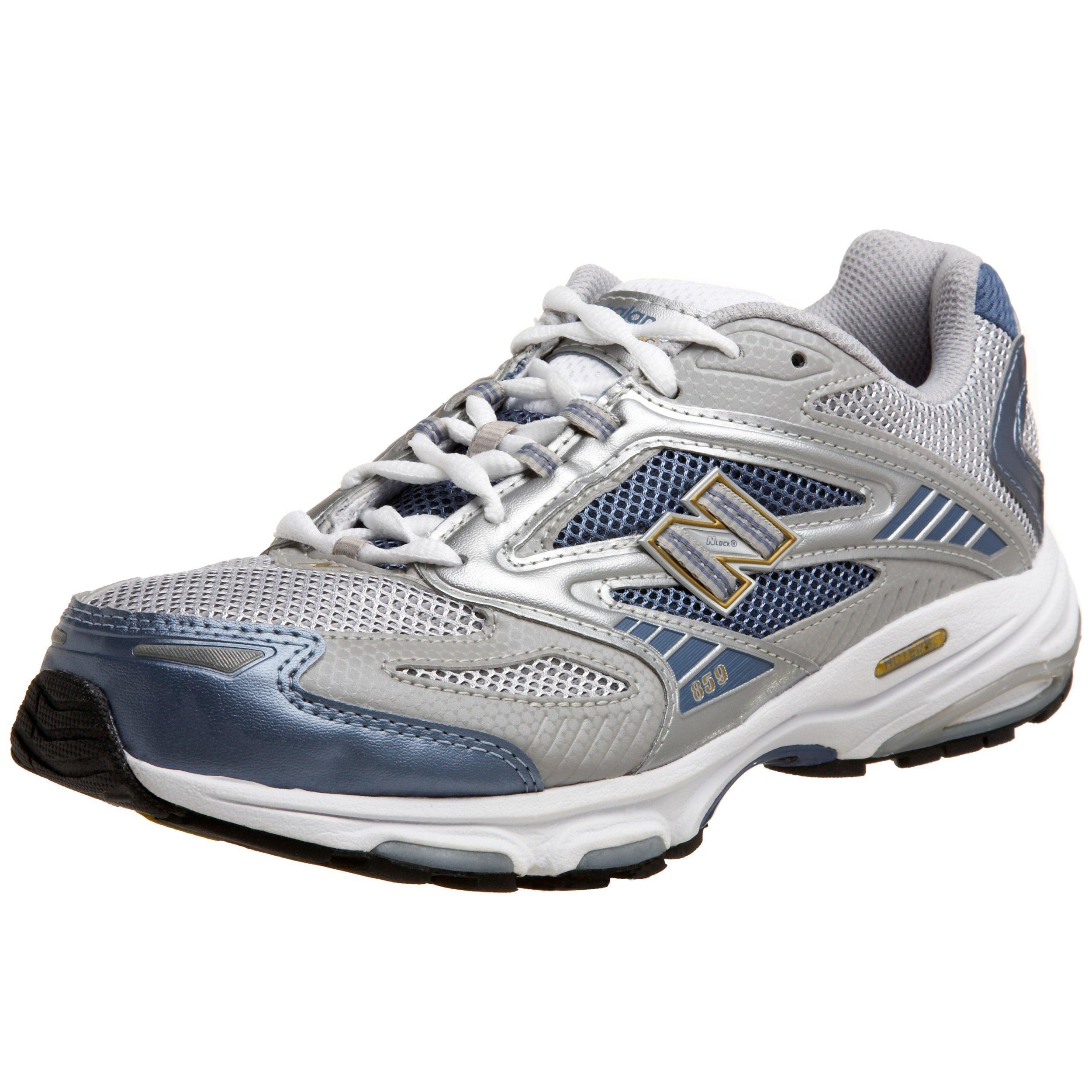 New Balance Women's WR859 Running Shoe,Grey/Powder Blue,10 B