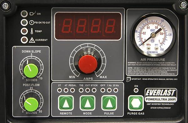 Everlast PowerUltra 206Pi 200a