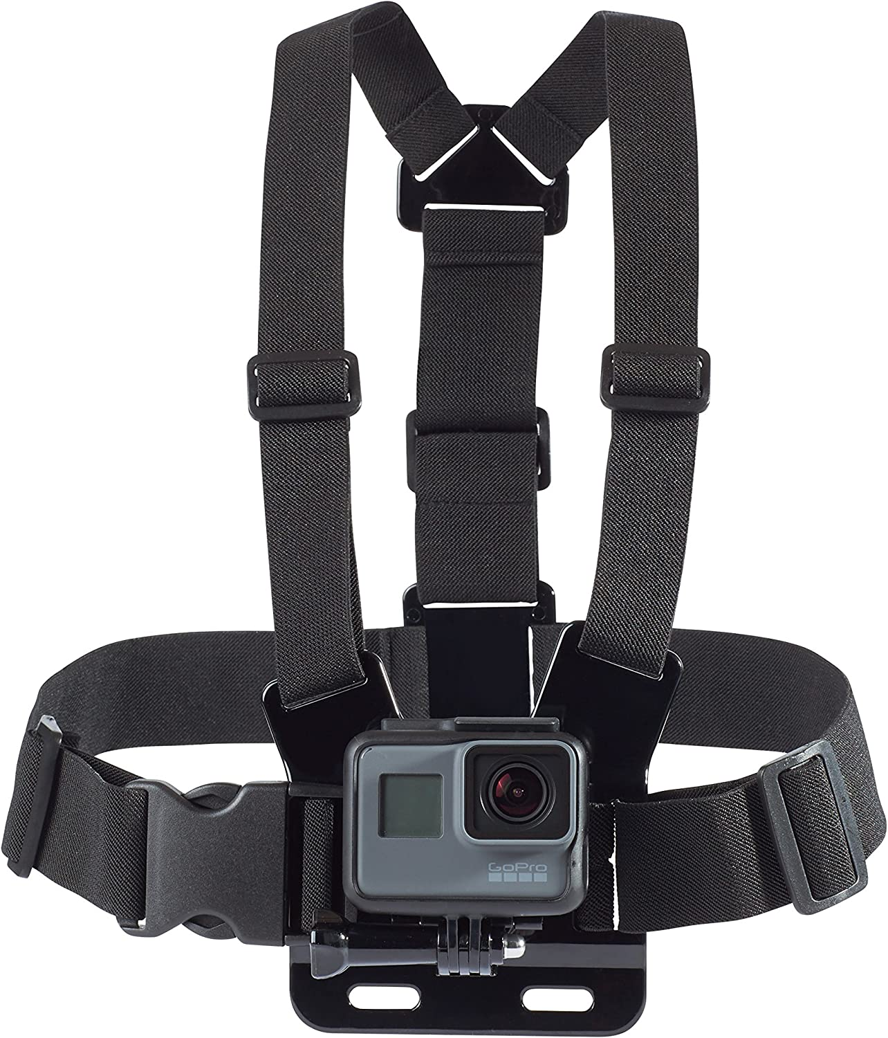AmazonBasics Chest Mount Harness for GoPro Camera - Black