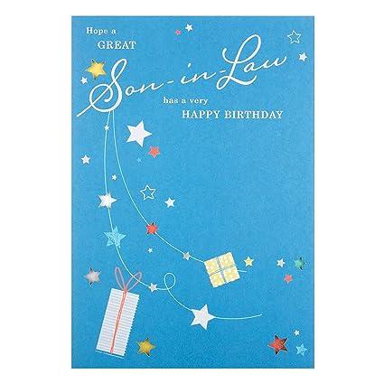 Amazon Hallmark Son In Law Birthday Card Enjoy Medium