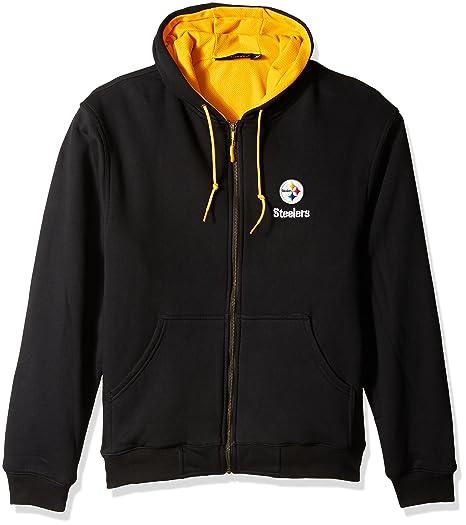 7cf7e79a39d Amazon.com  Dunbrooke NFL Craftsman Full Zip Thermal Hoodie ...