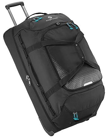 Inch drop bottom wheeled duffel