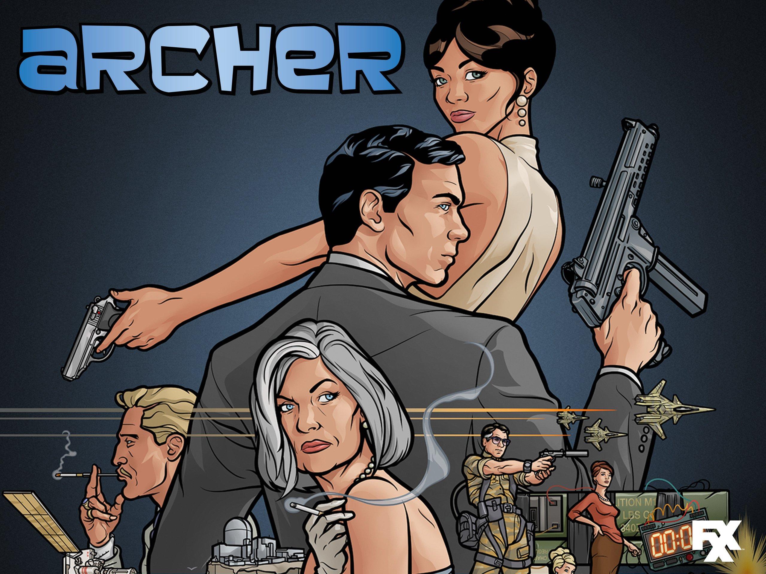 Archer pam hook up