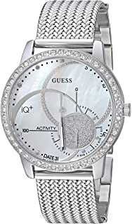 GUESS Aria Ladies Active Plata, Blanco Reloj Inteligente - Relojes Inteligentes (8760 h,