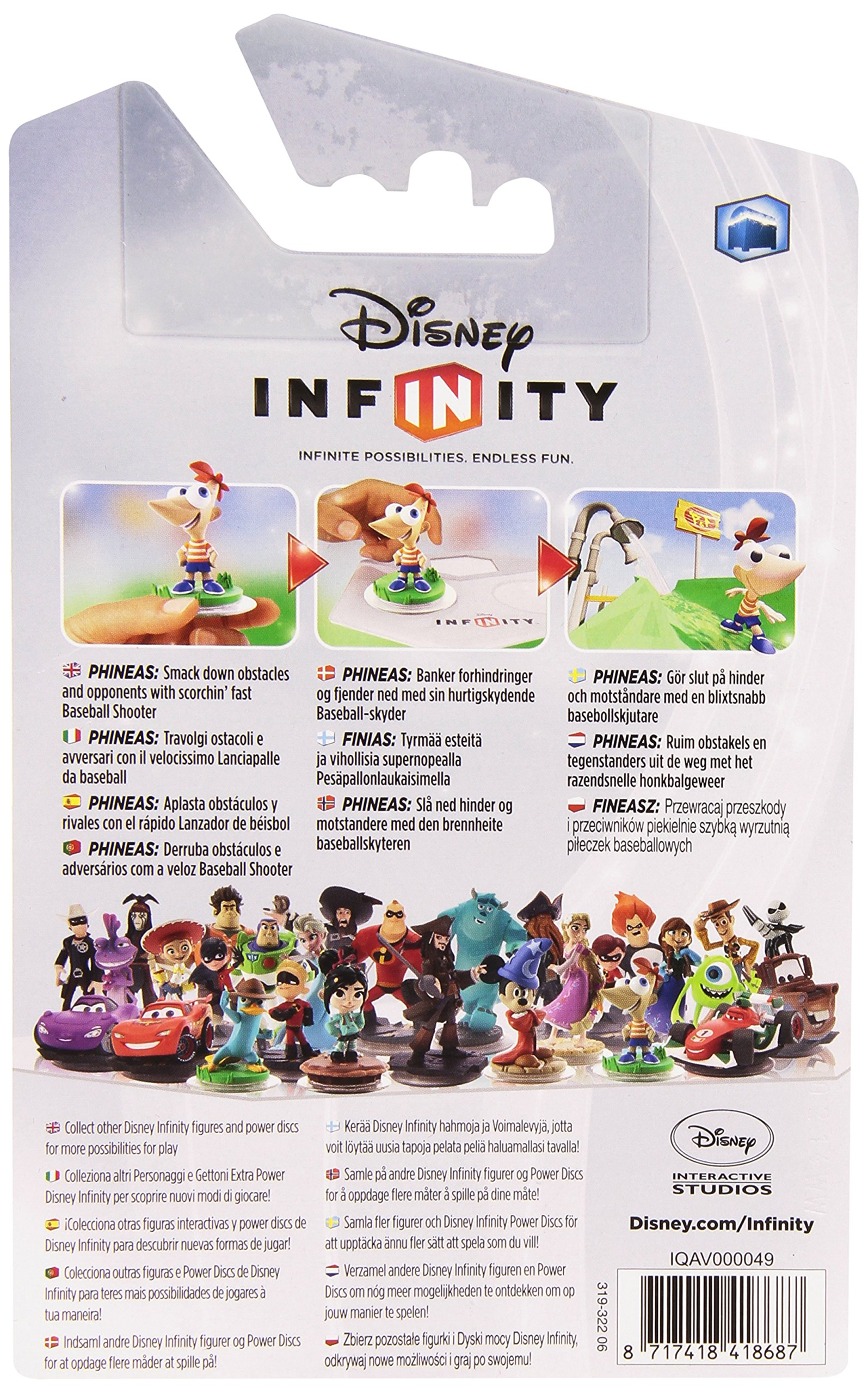 Disney Infinity Character - Phineas (PS4/PS3/Xbox One/Xbox 360/Nintendo Wii/Nintendo Wii U/Nintendo 3DS) by Disney (Image #3)