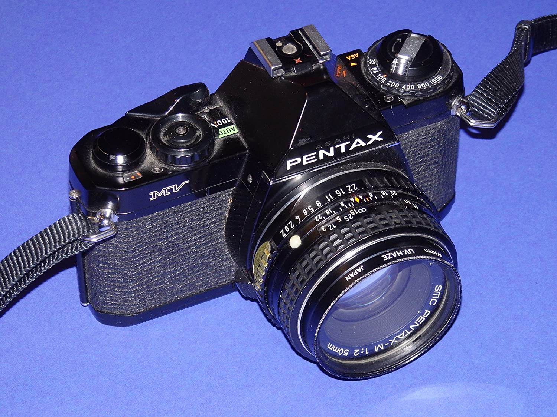 Pentax MV SLR Camera - Cámara réflex analógica - Incluye Objetivo ...