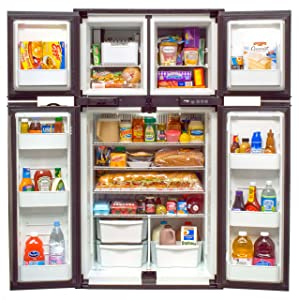 Norcold 1210 1210-RV Refrigerator-12 cu. ft. -4-door-2-Way AC/LP
