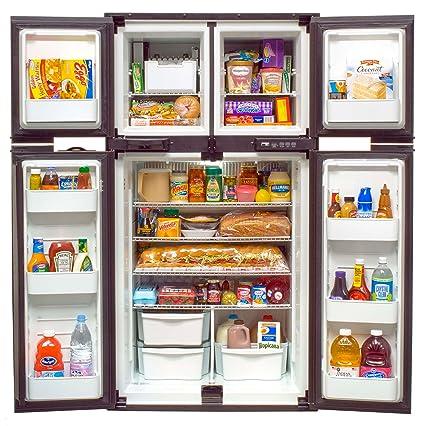 3 Way Refrigerator >> Amazon Com Norcold 1210 12 Cu Ft 4 Door Rv Refrigerator 3 Way Ac