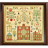 Cross Stitch Sampler Antique 1834 English Reproduction Counted Chart PDF /& Print