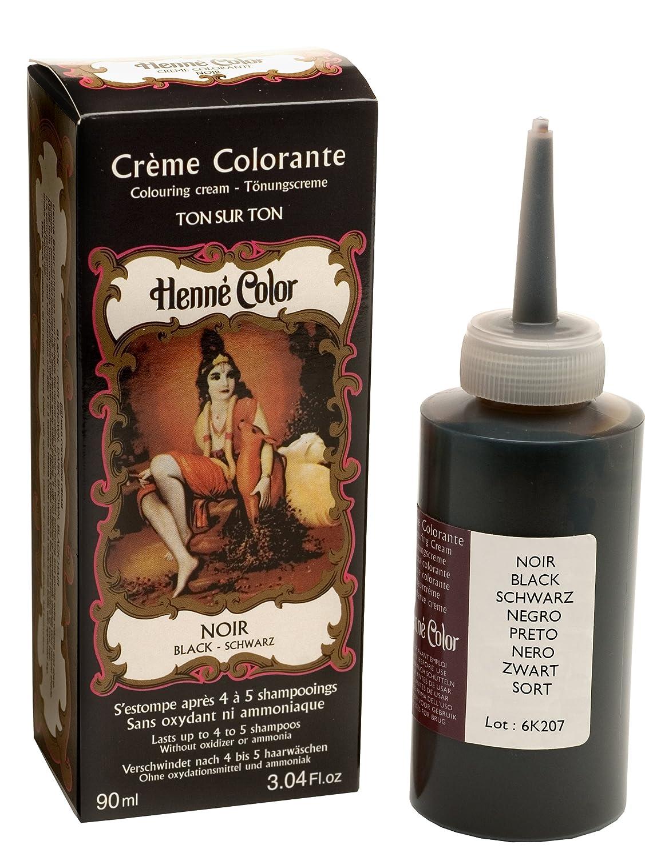 Tinte de henna para el cabello, color rojo intenso, 90 ml, de Henne Color NJD-LHBL3