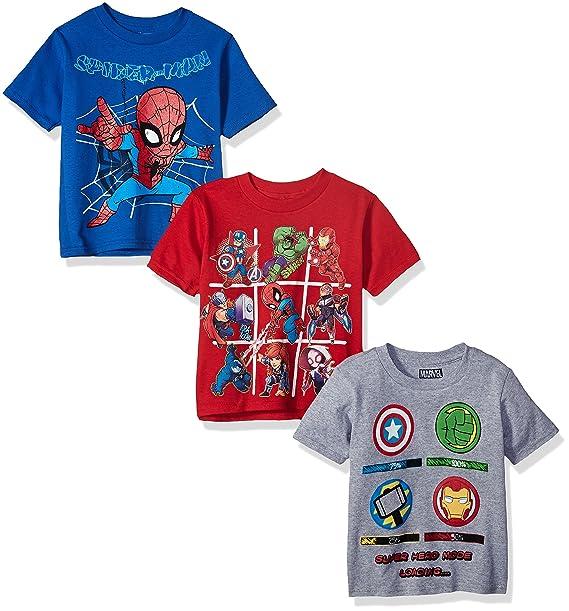 6da58862544f Amazon.com  Marvel Toddler Boys  Avengers Superhero 3-Pack Short ...