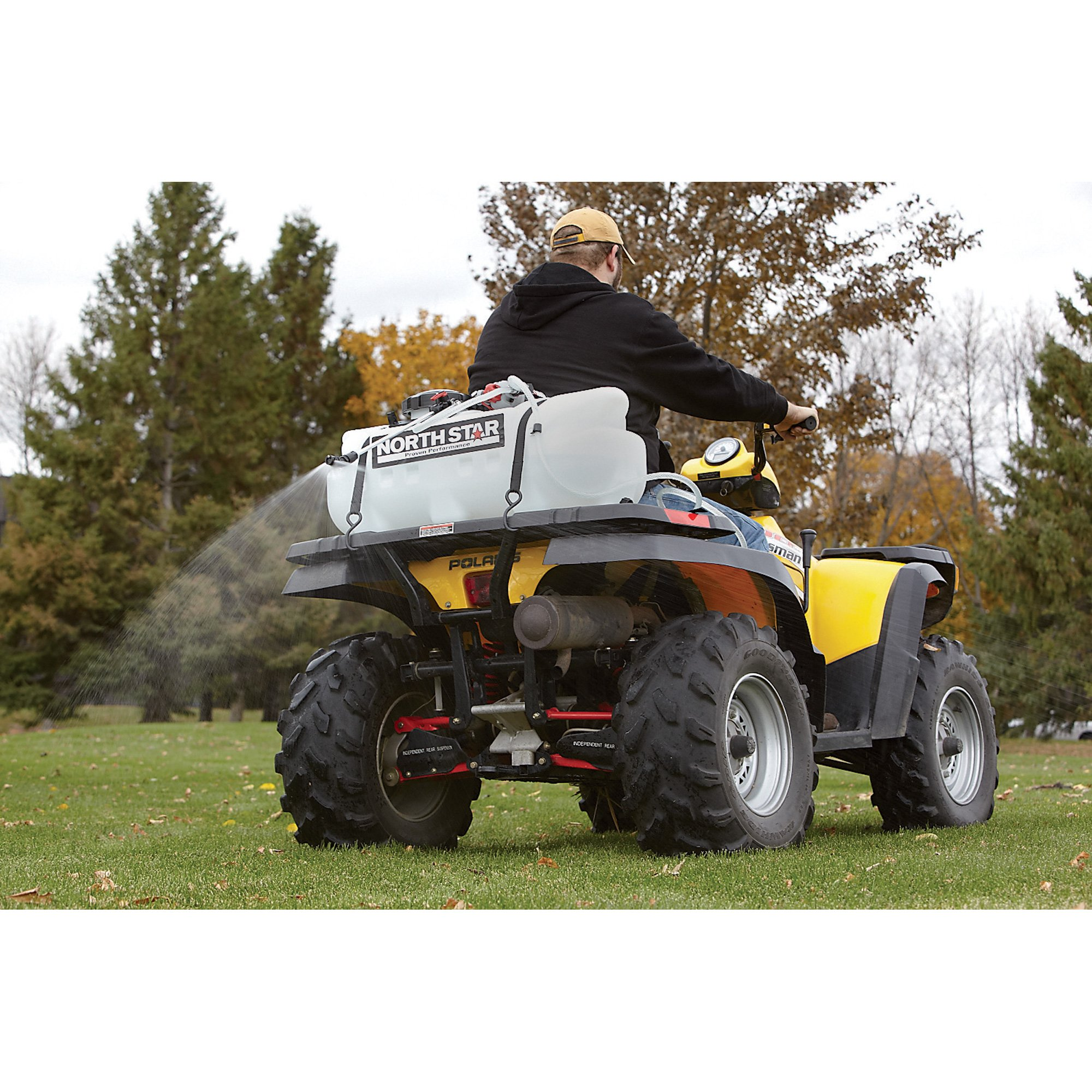 NorthStar ATV Broadcast and Spot Sprayer - 16 Gallon, 2.2 GPM, 12 Volt by NorthStar