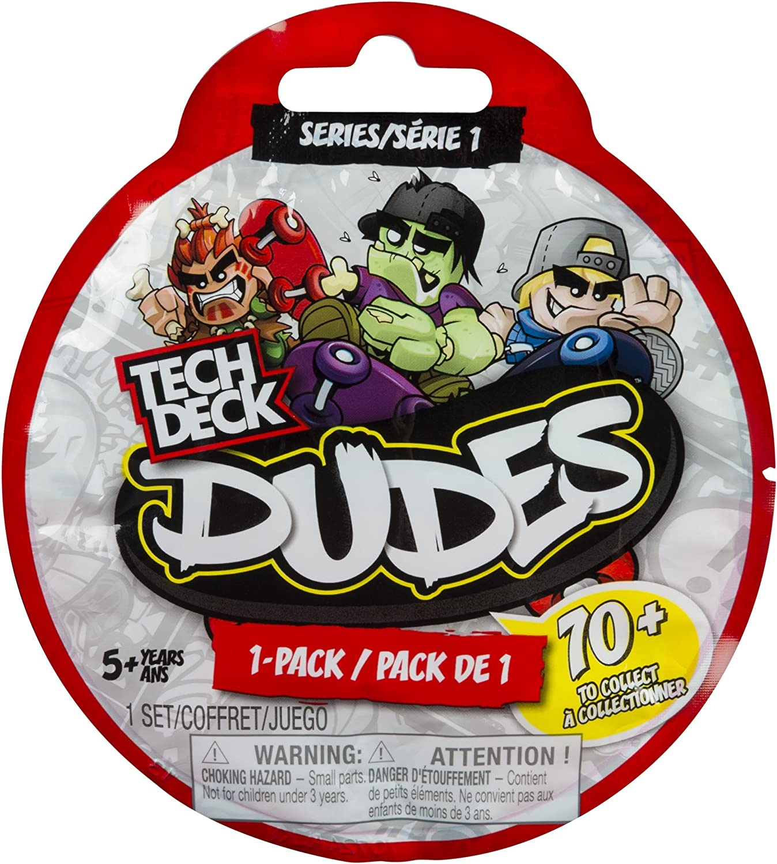 Tech Deck Dudes Single Pack Series 1 Collectible: Amazon.es ...