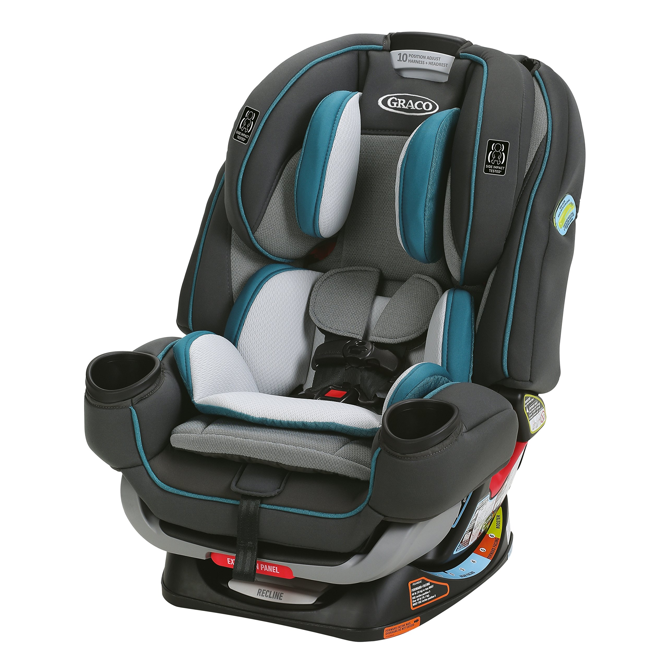 Graco 4Ever Extend2Fit 4 In 1 Car Seat Seaton