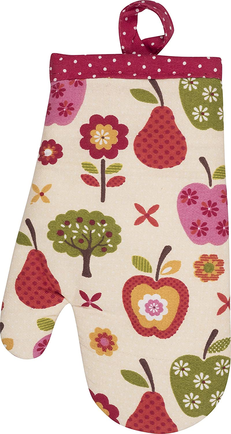 Handstand Kitchen Child's 100% Cotton 'An Apple a Day' Apron with Patch Pocket Handstand Kids LLC THS-APL-KA-N