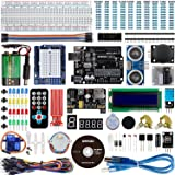 Smraza Ultimate UNO Project Starter Kit for Arduino with Stepper Motor, Servo Motor and Ultrasonic Sensor for Arduino UNO R3 Mega 2560 NANO(26 Projects)