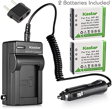 zi8 video camera Battery Pack KLIC 7004 para Kodak EasyShare Batería play deporte