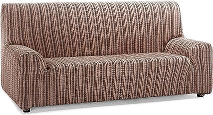 Oferta amazon: Martina Home Mejico - Funda de sofá elástica, Marrón, 2 Plazas, 120 a 190 cm de ancho