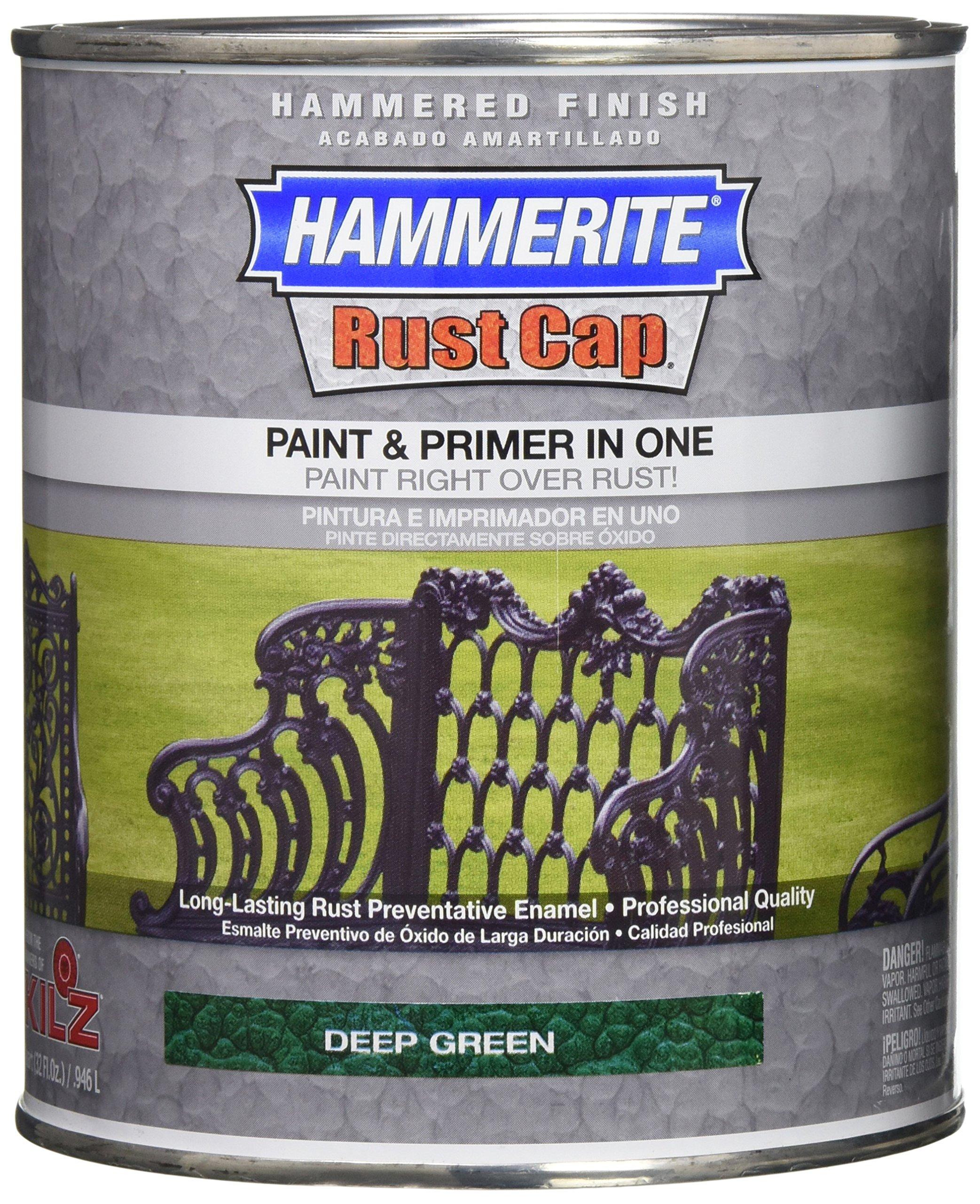 Masterchem 43165 Hammerite Metal Hammered Deep Green