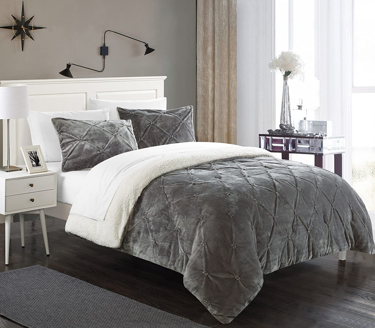 Light Gray Duvet Cover Full