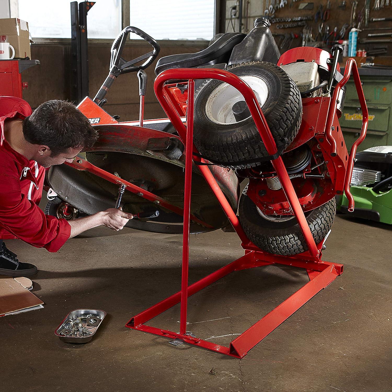 Oregon - Elevador hidráulico para tractor cortacésped: Amazon.es ...