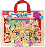 T.S. Shure Princess, Ballet & Fairies Magnetic Wooden Playboard Set