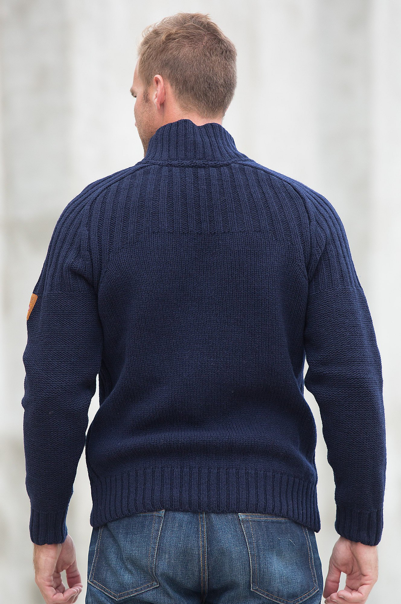 Dale of Norway Men's Ulv Sweater Navy X-Large by Dale of Norway (Image #4)