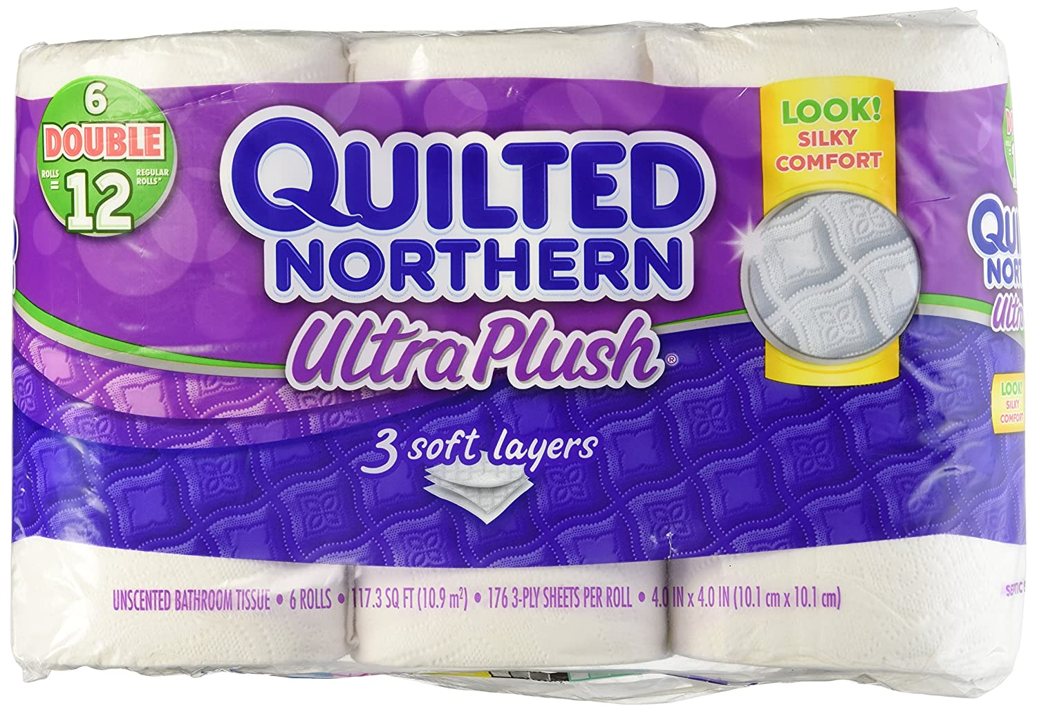 dp com amazon ultra plush outdoors quilt rolls double northern sports tissue bath quilted
