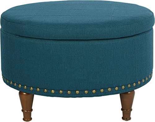 OSP Home Furnishings Alloway Storage Ottoman