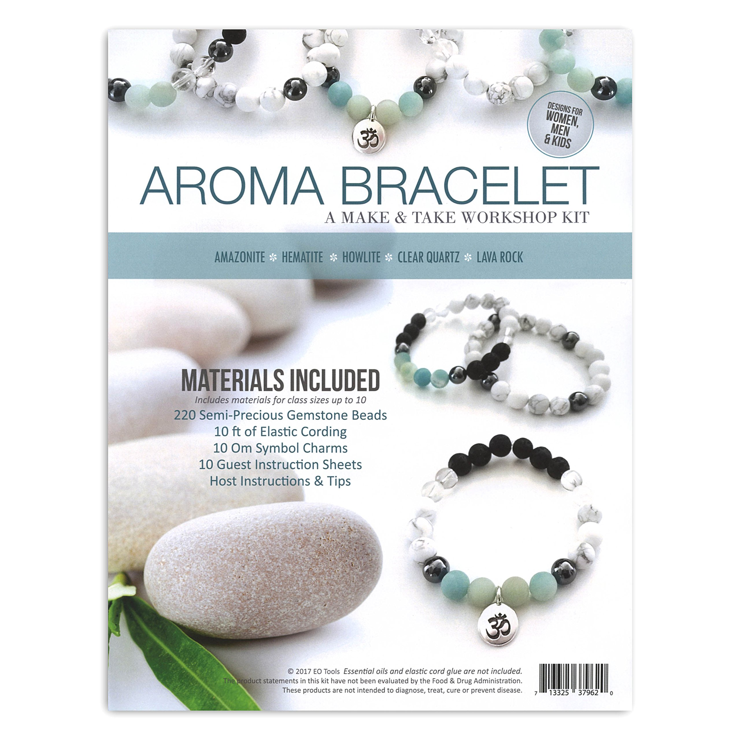 Amazonite Aroma Bracelet Make & Take Kit by EO Tools