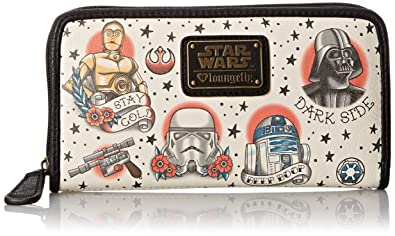 Loungefly Star Wars Flash Print Faux Wallet for Women