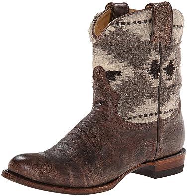 Women's Serape Round Toe Ankle Boot