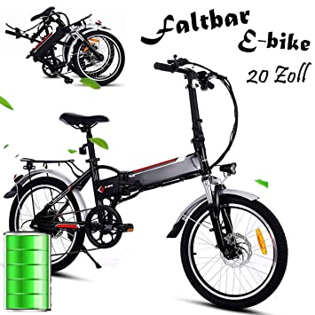 Qulista bicicleta plegable para E-Bike 20 pulgadas Mountain Bike Pedelec plegable ruedas bicicleta eléctrica