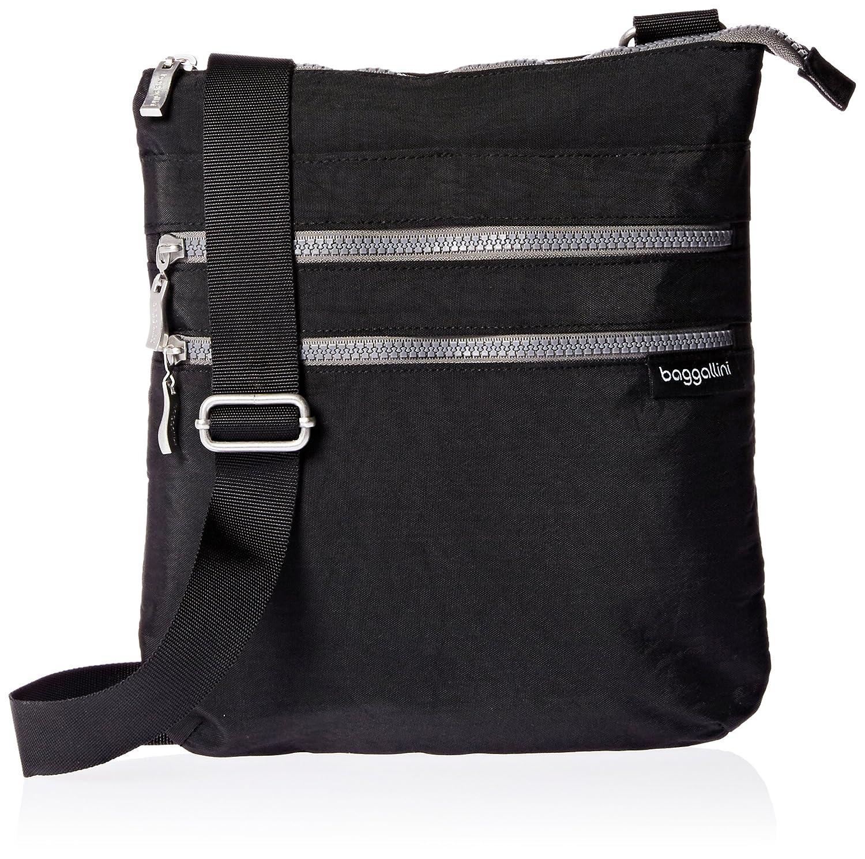 Baggallini Comrade 3-Zip Crossbody  Handbags  Amazon.com