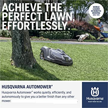 powerful Husqvarna Automower 450X