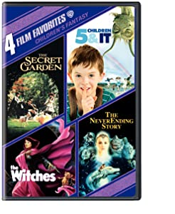 4 Film Favorites: Children's Fantasy (5 Children and It, The Neverending Story, The Secret Garden, The Witches)