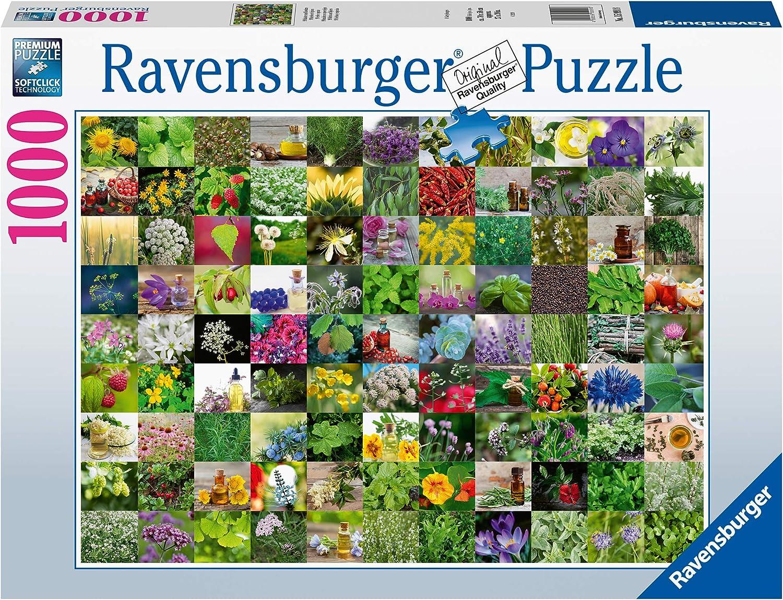 Ravensburger Erwachsenenpuzzle 15991 99 Kräuter 1000 Piece Puzzle, Multicoloured